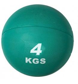 Medicinska lopta AbFit 4 kg