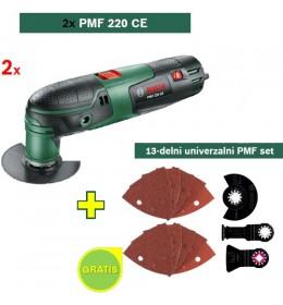 Multifunkcionalni alat Bosch PMF 220 CE+ 13-delni univerzalni PMF set