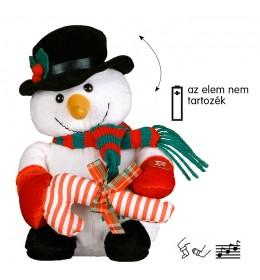 Muzički Sneško Belić sa poklonom 25 cm