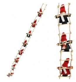 Novogodišnja dekoracija merdevine sa vilenjacima D115 cm