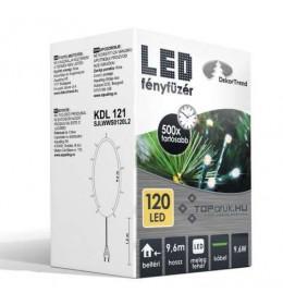 Novogodišnje toplo bele LED lampice 120 sijalica