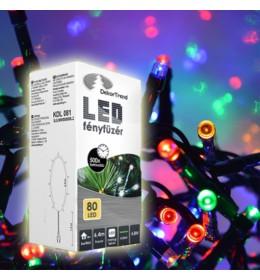 Novogodišnje multi LED lampice 80 sijalica