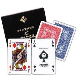 Piatnik karte 2/1 Plastic bridge