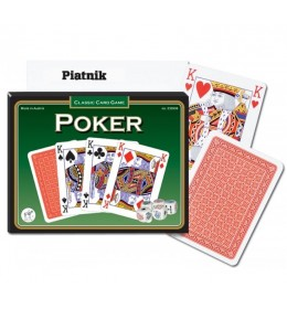 Piatnik karte 2/1 Poker set