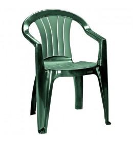 Plastična stolica Cheya zelena