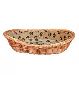 Pletena korpa sa šapicama za mačke i male pse 50 cm Trixie