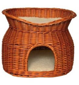 Pleteni krevet-kućica za mačke 2u1 Trixie