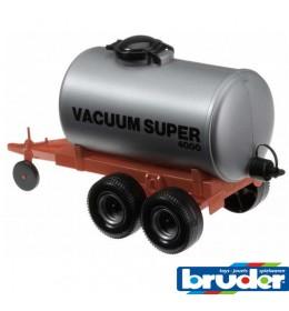Prikolica Bruder cisterna vaccum 400