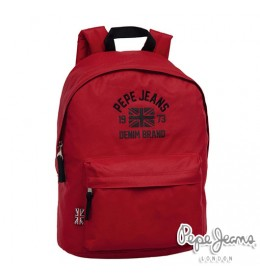 Ranac za školu Pepe Jeans Denim Brand Red