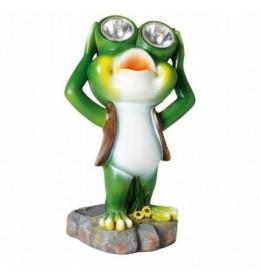 Solarna lampa u obliku žabe MX638