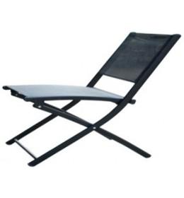 Stolica za baštu crna