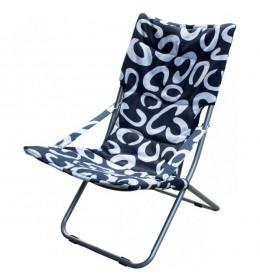 Baštenska stolica sklopiva plava