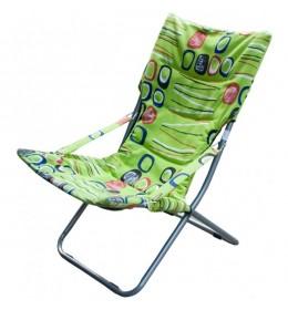 Baštenska stolica sklopiva zelena