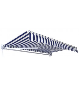 Tenda 4x2.5m plavo bela