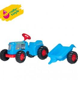 Traktor na pedale sa prikolicom RollyKiddy Classic