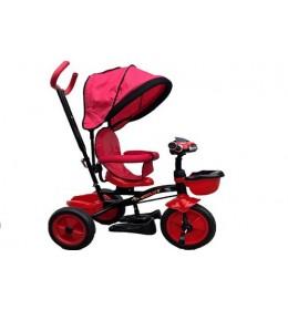 Tricikl sa rotirajucim sedistem,model 405 crveni