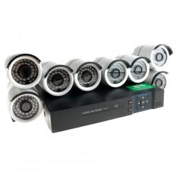 Video nadzor AHD komplet 8 kamera