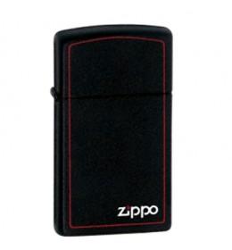 Zippo upaljač Black Slim Bor