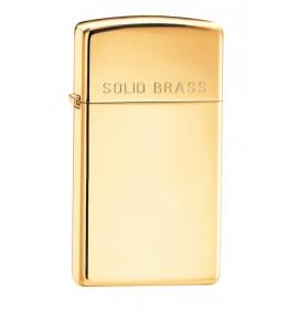 Zippo upaljač Slim Solid brass
