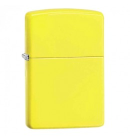Zipppo upaljač Reg. Neon Yellow