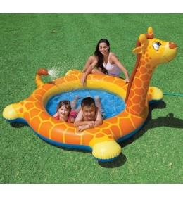 Bazen za bebe sa prskalicom Žirafa